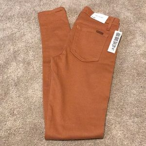 Joes Jeans skinny jeans nude color NWT size 27